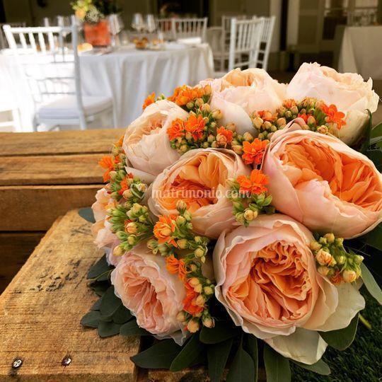 Bouquet - le rose inglesi