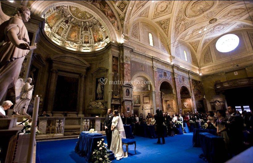 Cerimonia a Roma