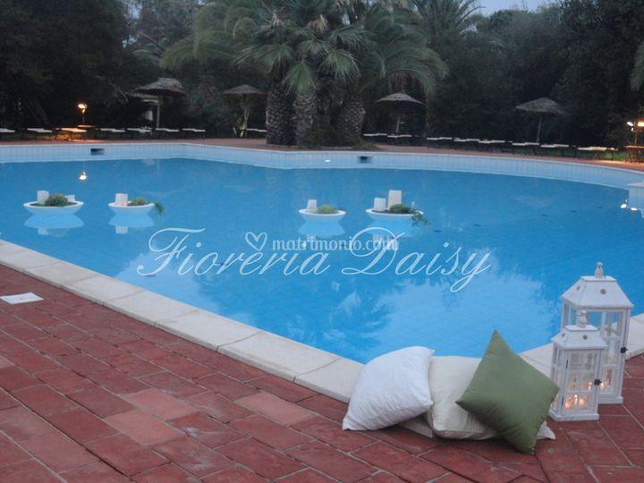 Daisy for Addobbi piscina per matrimonio