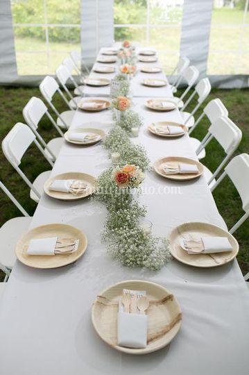 Ecofriendly Wedding Table