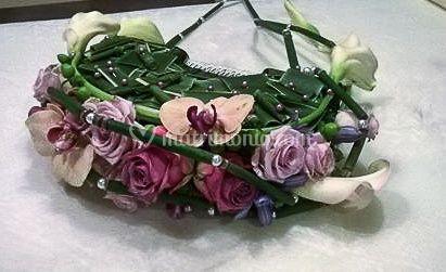 Bouquet a borsettina