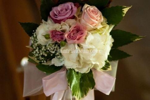 Bouquet per panche chiesa
