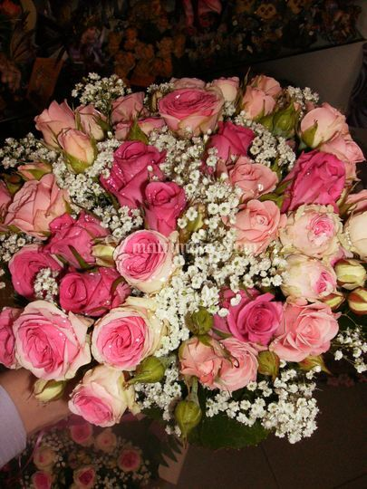 Bouquet Sposa di roselline