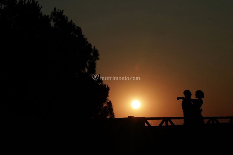 Il tramonto