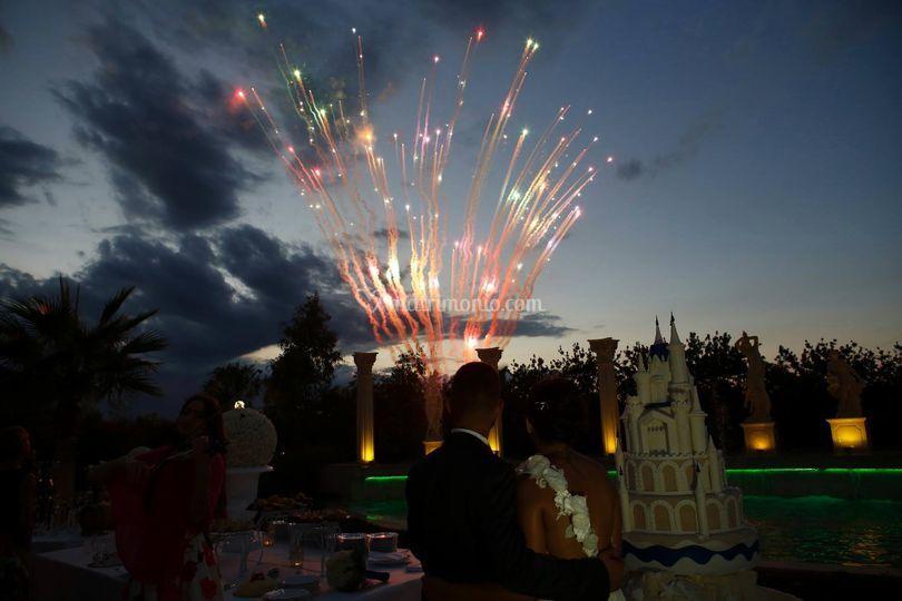 Servizio fuochi d'artificio