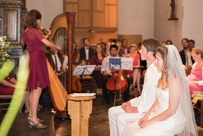 Musicisti in chiesa