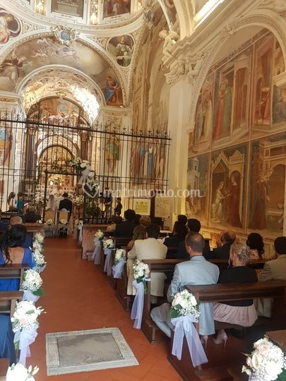 Allestimento chiesa 1