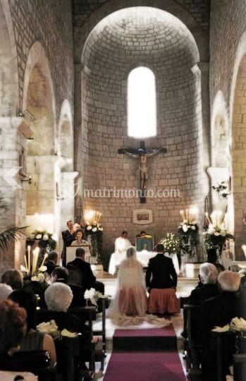 In chiesa