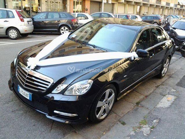 Auto per matrimoni Mercedes