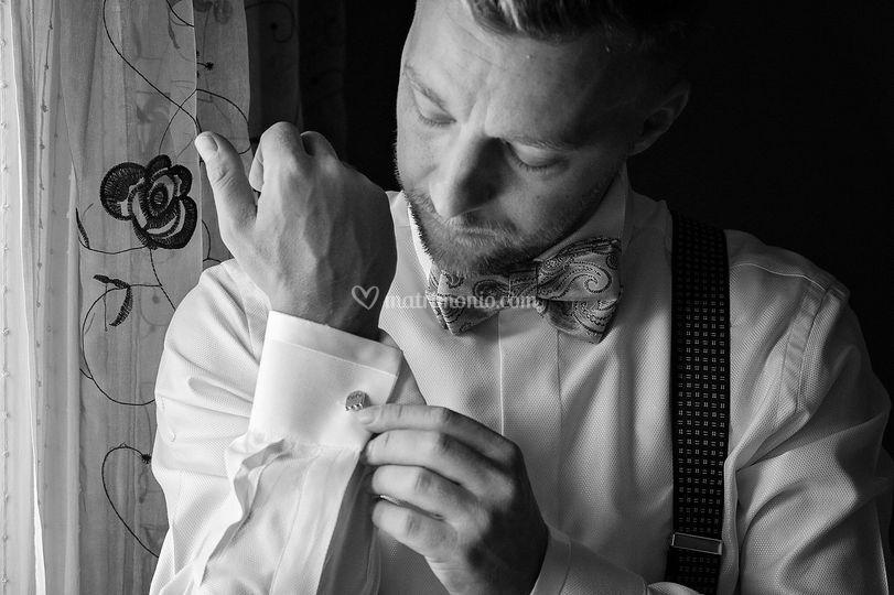 Preparativi dello sposo