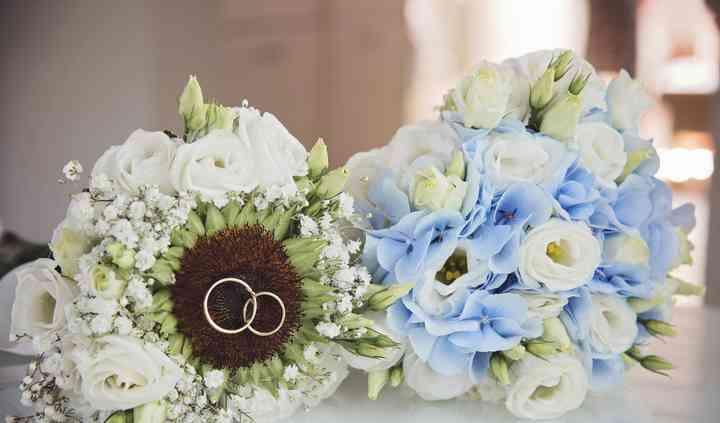 Il bouquet e gli anelli