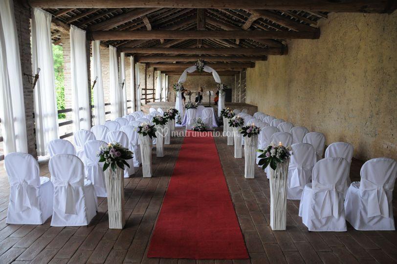 899edaa7c9f4 Castello di Paderna - Arco di Fior di Nozze