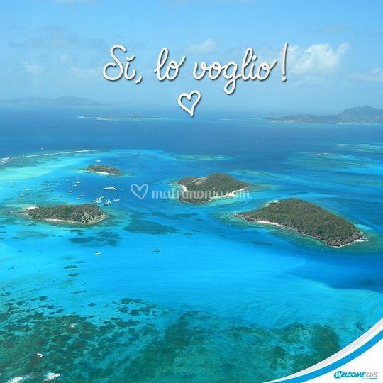 Isole nel blu