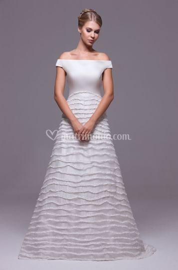 57659837b1cc Mod. Guendalina di Linea Spose di Elena Belardinelli