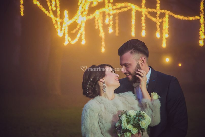Winter Wedding By Foto LR