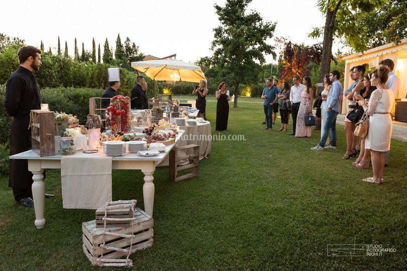 Aperitivo in giardino di tenuta i massini foto 60 for Giardino orticoltura firenze aperitivo