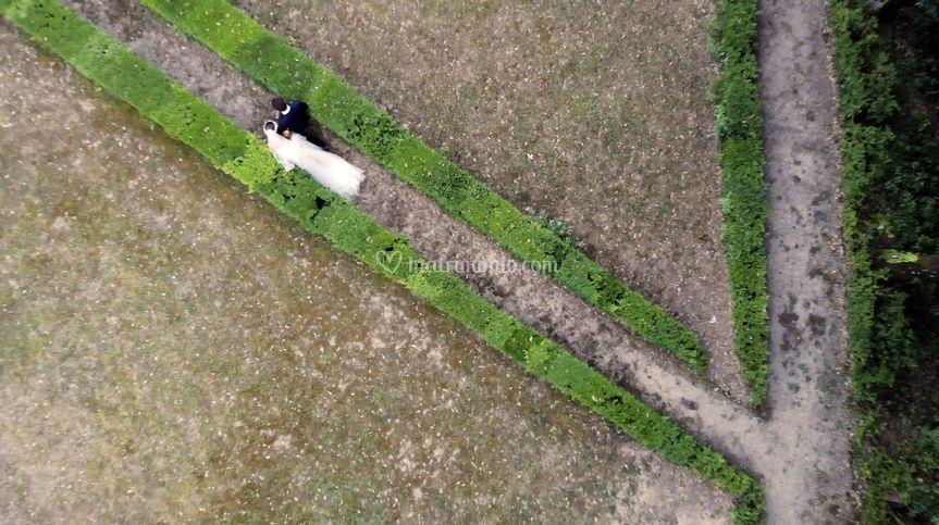 Drone in Giardino