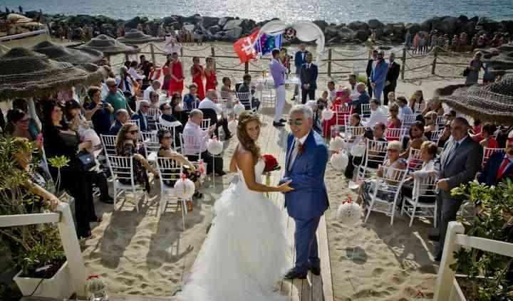 Rito civile in spiaggia