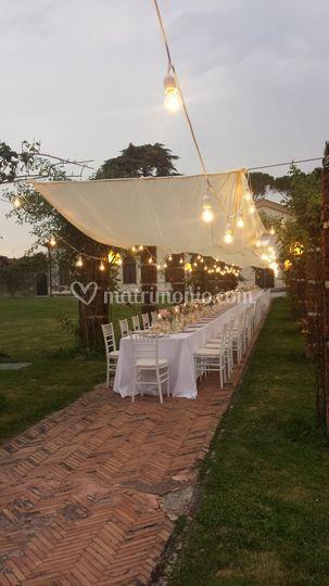 Tavolo imperiale giardino
