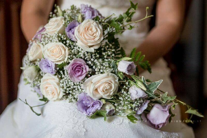 Bouquet a cascata rose