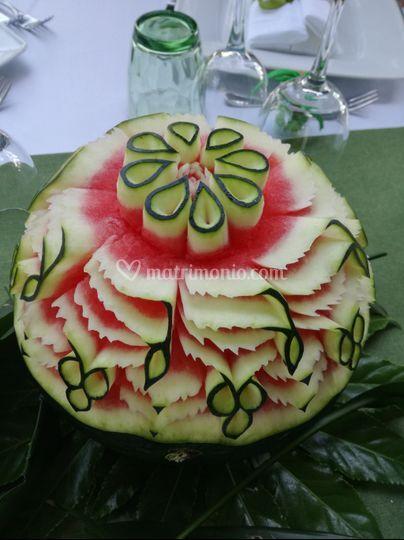 Intaglio frutta  thailandese