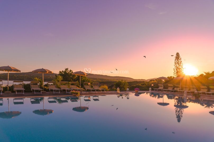 Vista Aerea Piscina Di Hotel Dei Pini Alghero Foto 50