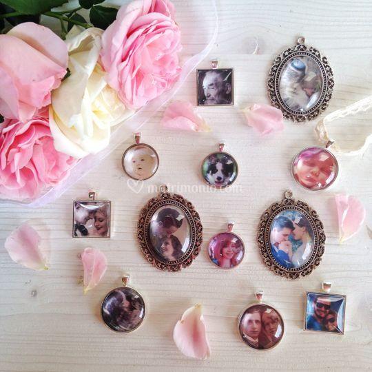 Foto ciondoli per boutonnierre