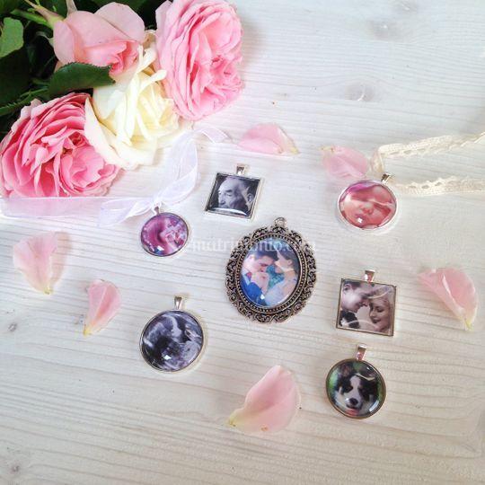 Foto ciondoli per bouquet
