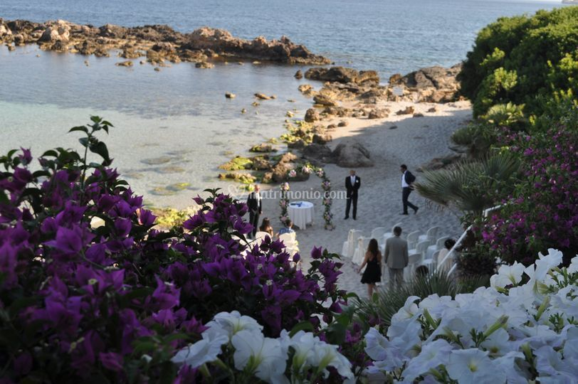Matrimonio Simbolico In Spiaggia : Hotel dei pini alghero