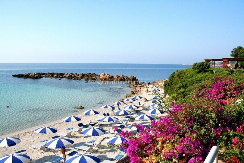 Matrimonio Spiaggia Alghero : Spiaggia privata di hotel dei pini alghero foto