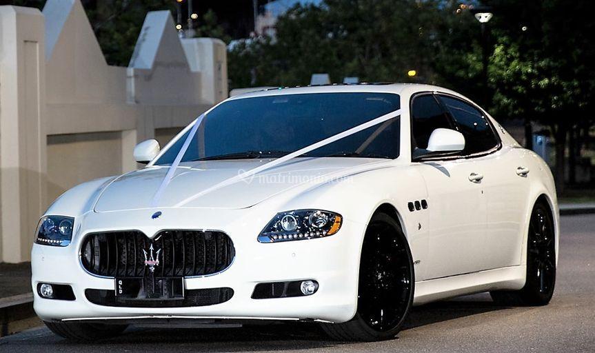 Maserati gts bianca