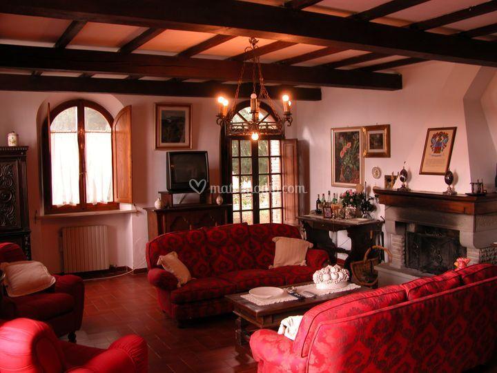 Interno Villa Padronale