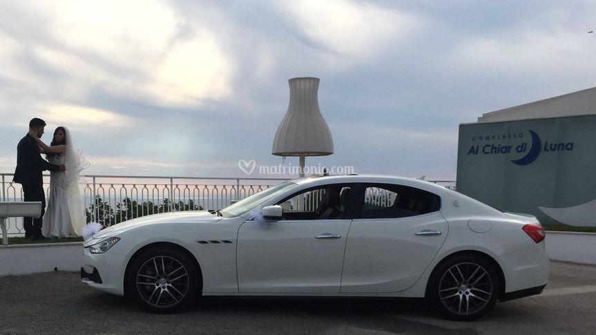 Maserati q4 bianca