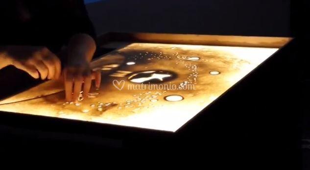 Rossella Milencio Sand Art