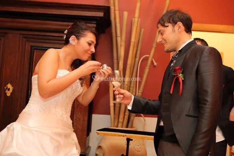Magia agli sposi
