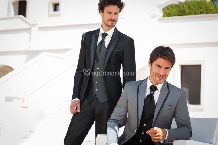 Completo sposo e testimone