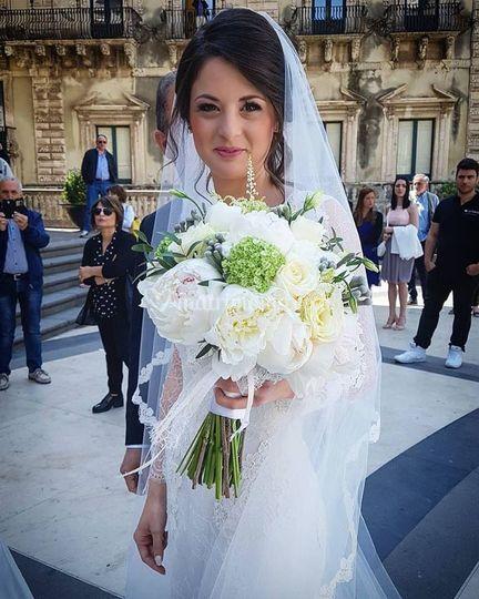 Simona our beautiful bride!