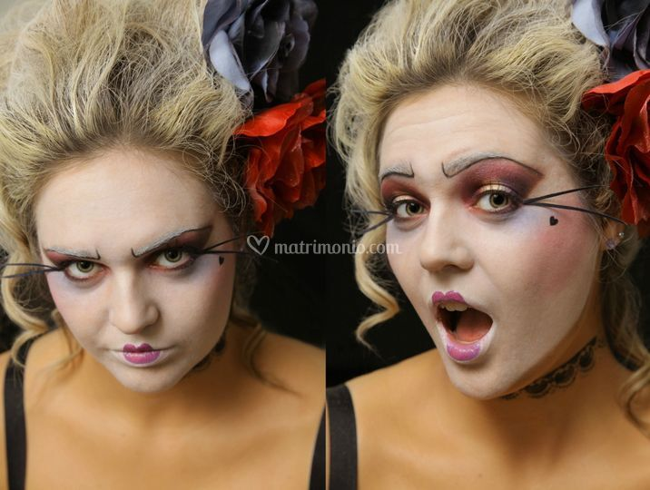 Makeup artistico Barocco