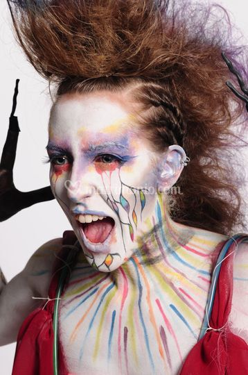 Makeup artistico bodypainting
