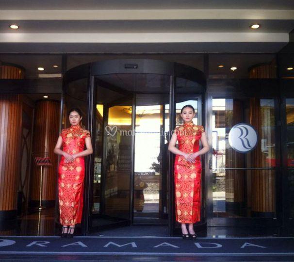 Accoglienza matrimonio Cinese