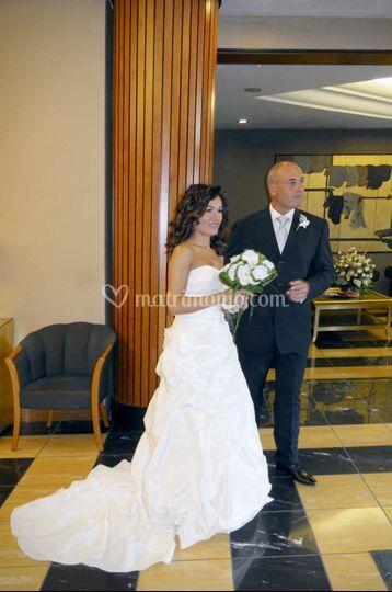 Sposa in Hall Albergo