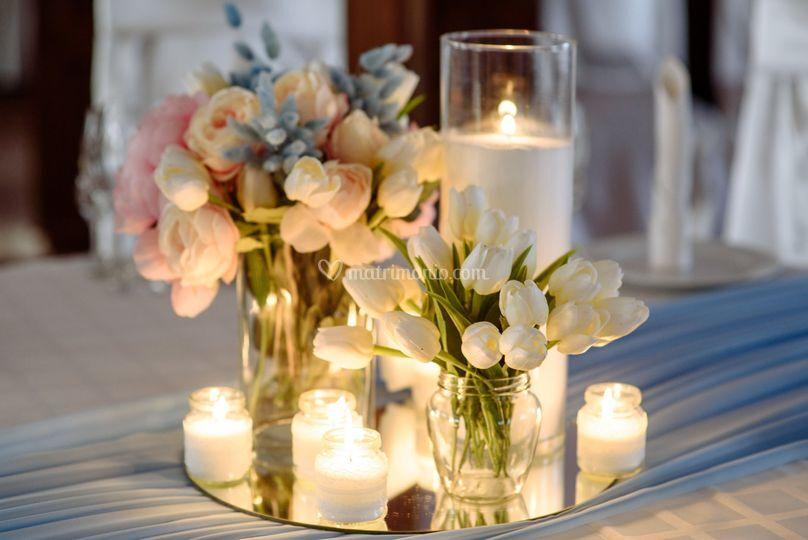 Wedding day: romantico