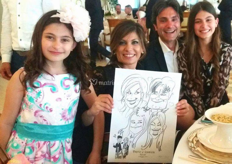 Caricaturista ai matrimoni