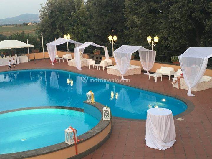 Exclusivevent catering roma for Piscina cavaleri