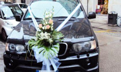 Addobbi per auto sposi