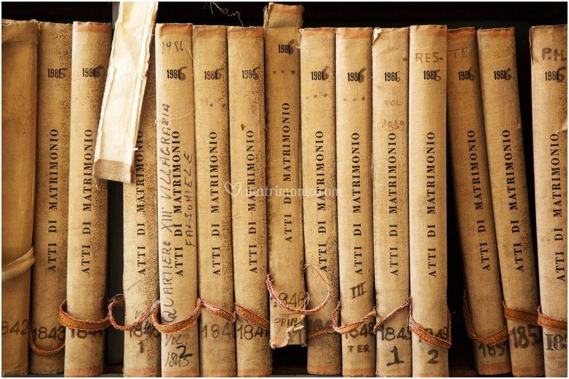Old Wedding Books
