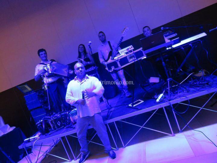 Cabaret peppe la pressa di Banane Lampone Band