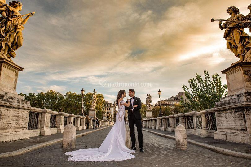 Angela e Alessio in Rome