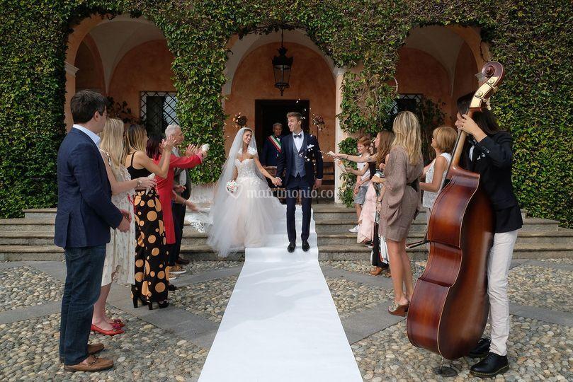 Matrimonio civile alla Tenuta