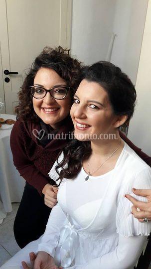 Make up sposa raffinato